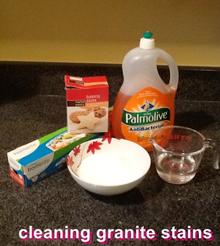 Cleaning Marble Stains : Cleaning granite counters fiscally chic